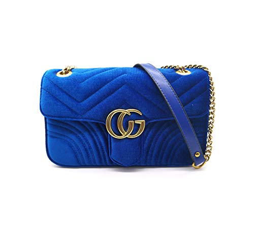 Ladies Crossbody Handbags for Women Chain Crossbody Bag Quilted Handbags for Women ()