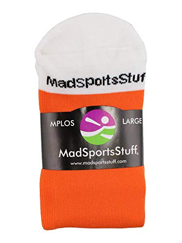 Buy orange baseball socks youth small