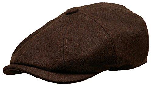 Newsboy Ivy Cap Gatsby Golf Driving Hat (Medium, Brown) ()