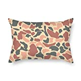 SkuGo pillow cases of camo,for chair,son,couch,sofa,home theater,gril friend 18 x 26 inches / 45 by 65 cm(each side)