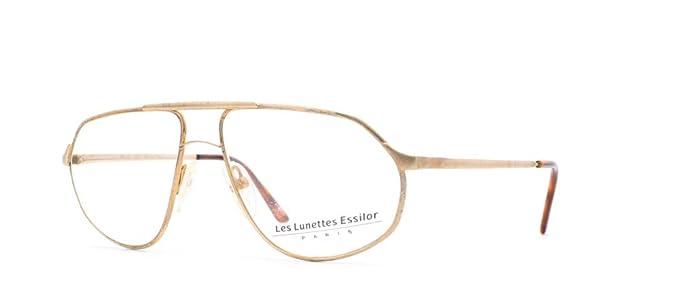 0ba89324c3c Essilor 201 2 Gold Authentic Men Vintage Eyeglasses Frame  Amazon.ca ...