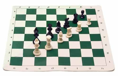 The House of Staunton Analysis Chess Set & Board Combination