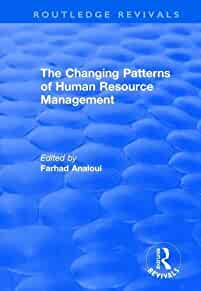 Changing patterns of human resource management /
