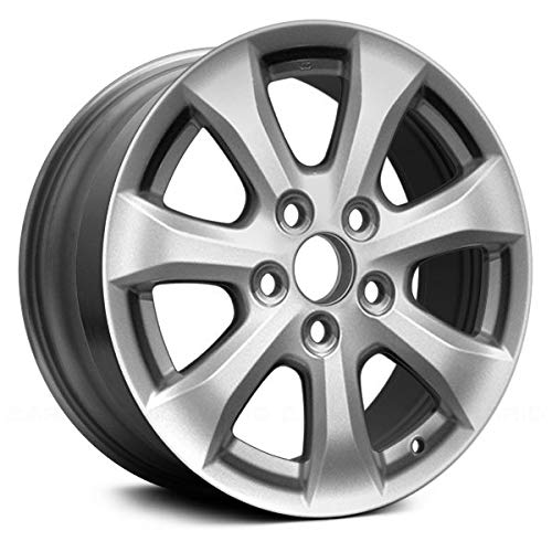 - Value 7 Spokes All Painted Silver Factory Alloy Wheel OE Quality Replacement