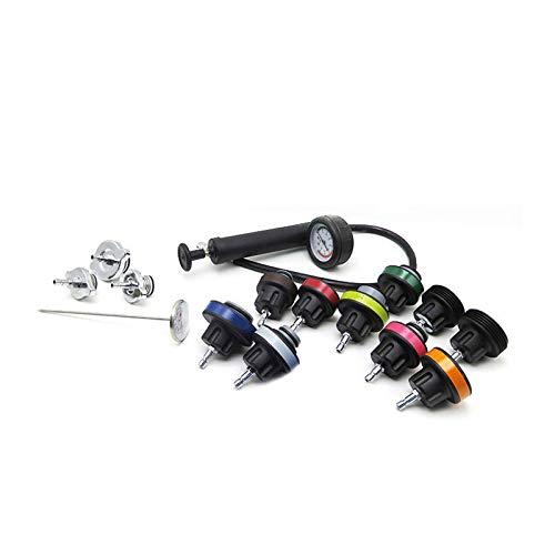 DSstyles 14pcs/Set Universal Cooling System Radiator Pressure Tester Gasket Test Kit Leak Detector by DSstyles (Image #5)