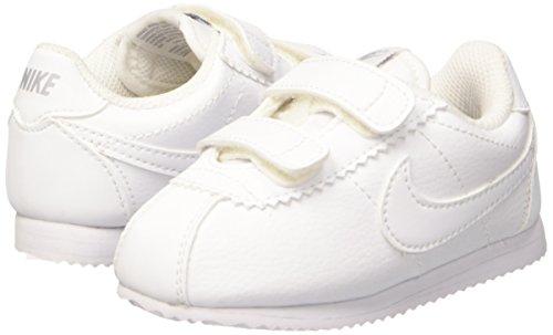 on sale 8c59d 19244 Nike Cortez (TDV), Zapatos de Primeros Pasos Unisex bebé, Blanco White-Wolf  Grey, 19 12 EU Amazon.es Zapatos y complementos
