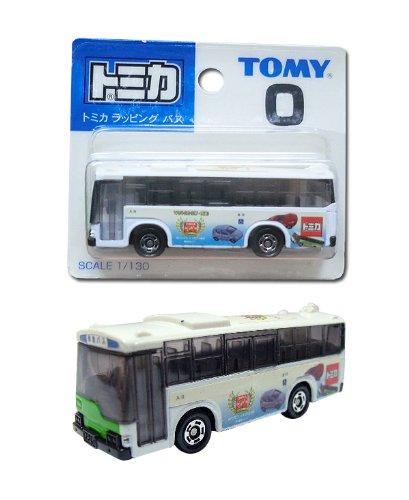 1/130 トミカ ラッピングバス(ホワイト) 「トミカ No.0」 トミカ30周年記念の商品画像