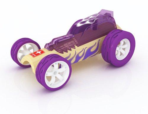 - Hape Hot Rod Bamboo Kid's Toy Car