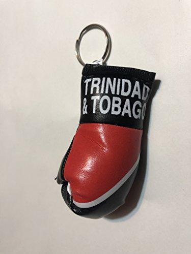 (Trinidad & tobago Keychain Boxing Glove)