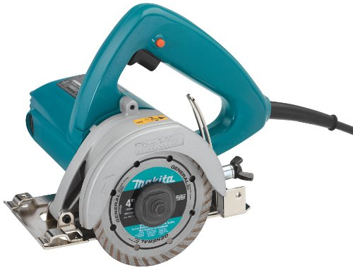 Makita 4100NHX1 4-3/8 Inch Masonry Saw with 4 Inch Diamond Blade (Masonry Wet Saw)