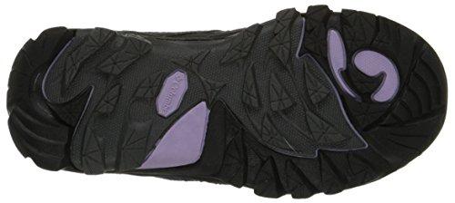 Columbia Childrens Redmond Explore Waterproof - Zapatillas de Trekking y Senderismo de Piel Niños^Niñas Negro Schwarz (Shark 011)