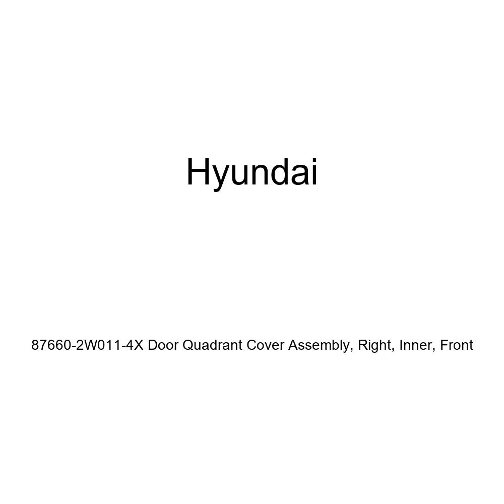 Inner Genuine Hyundai 87660-2W011-4X Door Quadrant Cover Assembly Right Front
