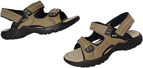 Trekking 50 Nr Sandalette Beige 47 Art Sandale Herren Outdoorsandale Schuhe 9001 Gr Ogc1tq
