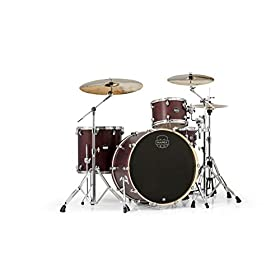 Mapex Mars Series 4-Piece Rock 24 Shell Pack Bloodwood 8