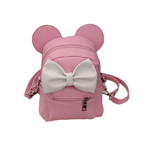 Ourhomer  Clearance Sale Wallet Purse New Mickey Backpack Female Mini Bag Women's Backpack (Pink) by Ourhomer (Image #3)