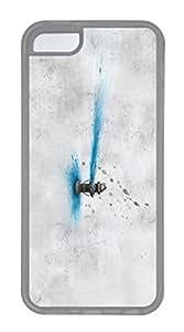 iPhone 5c Case Unique Cool iPhone 5c TPU Transparent Cases Fire Hydrant Design Your Own iPhone 5c Case