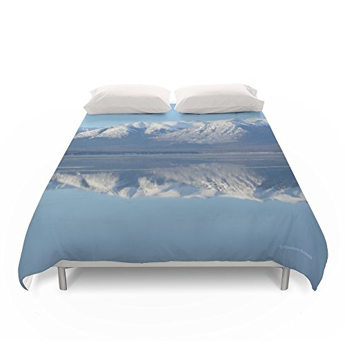 Society6 Turnagain Arm Mirror - Alaska Duvet Covers King: 104'' x 88'' by Society6