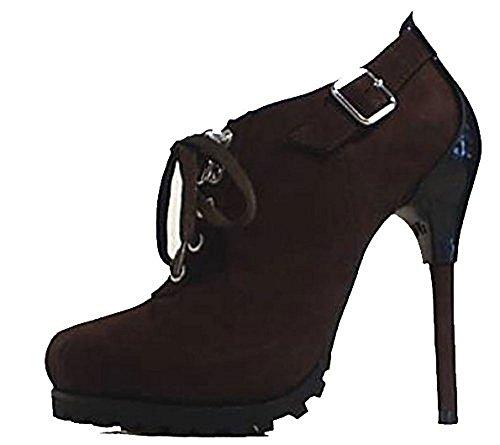 United Nude Ankle Boots LEDER Plateau braun Stiefel