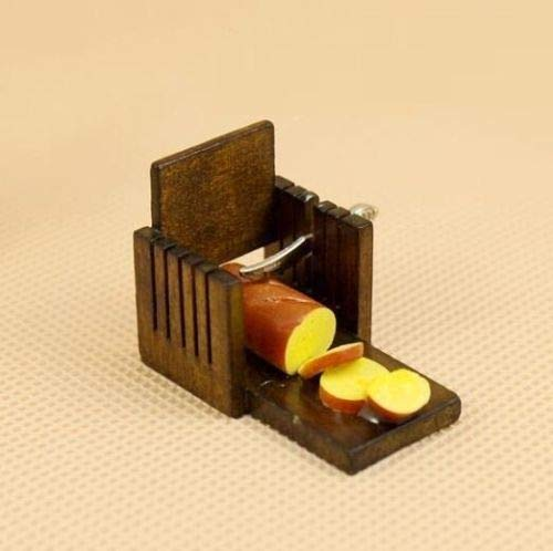 1:12 Scale Wood Toast Slicer Dollhouse Miniature Re-ment Fairy Doll Home Scene \