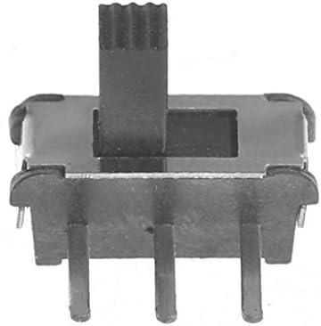 Lato 3 Piedi 4-H 20 1 Confezione KINTRADE 3 Pin SPDT 1P2T Interruttore a Slitta miniaturizzato Blocco Leva Scorrevole Maniglia 4MM Interruttore a levetta