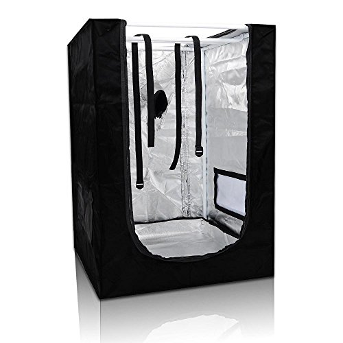 24''x24''x36'' Mini Grow Tent Indoor Hydroponics Dark Room 100% Reflective Mylar by Yescom