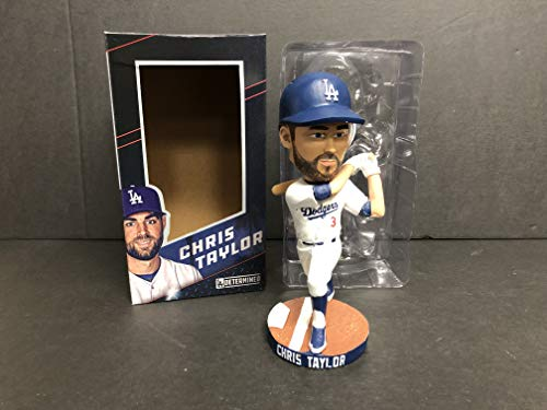 (Chris Taylor 2018 Los Angeles Dodgers Bobblehead Bobble SGA)