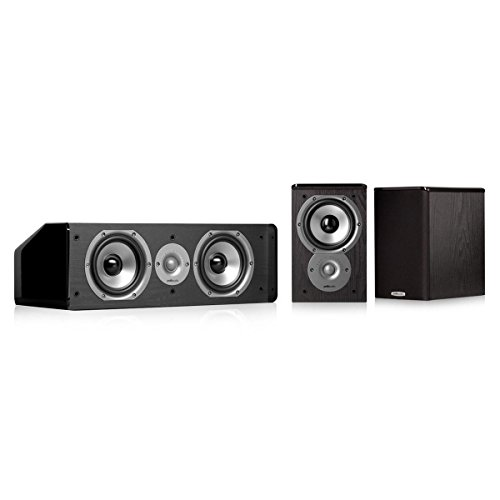 - Polk Audio TSi100 3.0 Home Theater Speaker Bundle (Black)