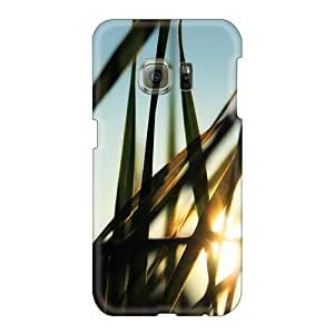 EricHowe Samsung Galaxy S6 Shock Absorption Hard Cell-phone Cases Custom Stylish Morninggrass Pictures [zej23722gAiQ]