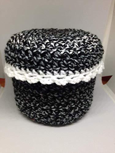 Toilet Paper Cover round home decor tissue bathroom crochet handmade