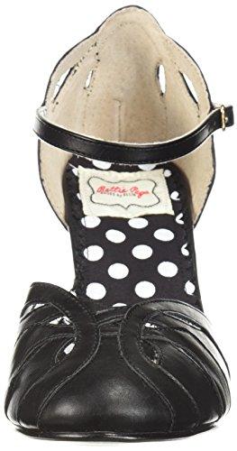 Bettie Pagina Dames Bp403-sally Pump Zwart