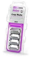 Mcgard 64002 Chrome Cone Seat Style Lug Nuts (M12 X 1.5 Thread Size) - Set Of 4