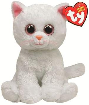 Ty 7142056 - Beanie Babies Bianca, Peluche Gata (15 cm), Color Blanco: Amazon.es: Juguetes y juegos