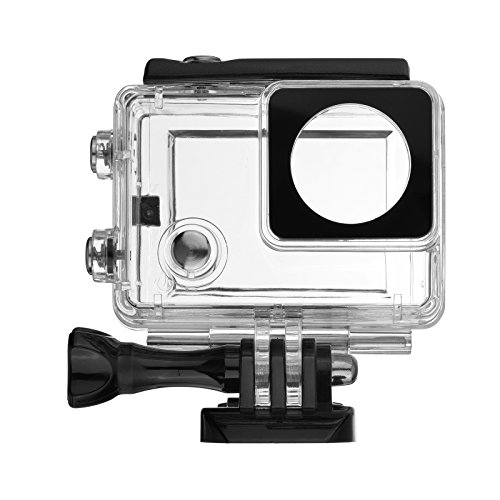 Waterproof Video Camera Housing (D&F Touchable Waterproof Housing Case Protective Diving Box Cover with LCD Screen Backdoor for Gopro 3+)