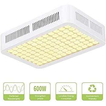 Amazon.com : 600W LED Grow Light, CXhome Reflector Series