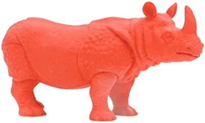 Kikkerland Endangered Species Rhino Eraser, Red (ER08)