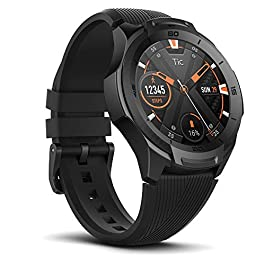 Ticwatch S2 Waterproof Smartwatch with Build-in GPS 24h Heart Rate Monitor Wear OS by Google Compatible with Android and…