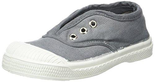 Bensimon Tennis Elly Enfant, Unisex-Kinder Hohe Sneakers Grau (Grau)