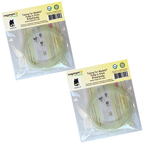 4 Tubing for Medela Pump in Style Advanced Breast Pump Release After Jul 2006. In Retail Pack. Replace Medela Tubing #8007212, 8007156 & 87212. BPA Free. Made By Maymom by Maymom