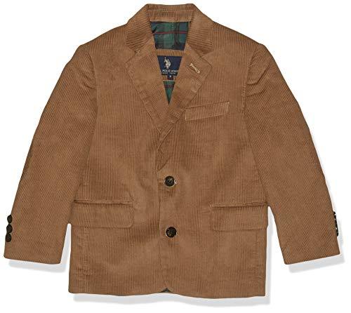 U.S. Polo Assn. Boys' Big Sport Coat, Cdm1011j-corduroy-Wheat, 20