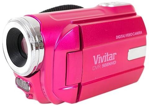 Vivitar DVR-508 HD Digital Video Camera Camcorder (Pink) (Jvc Everio Sd Card)