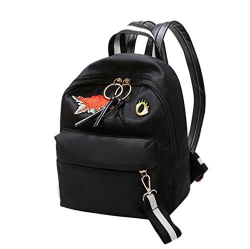 RAN Schulter Art Und Weise Nylon-Tasche Freizeitrucksack Im Freien Reisetasche Frauen