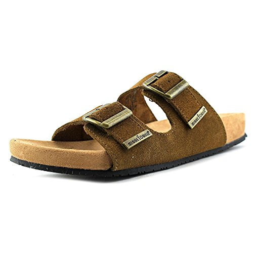 Brown Dress Sandal Suede Women's Minnetonka Gypsy Dusty wqBng