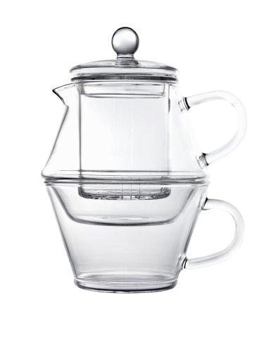 (Portofino Tea-for-One Single-Layered Glass 400 / 250 ml)