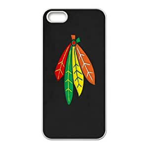 iPhone 5, 5S Phone Case Chicago Blackhawks Z8BH89676