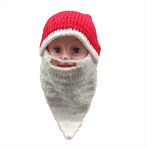 Warm Hat Hat Zoylink Beard Knitted Hat Winter Beard With Christmas
