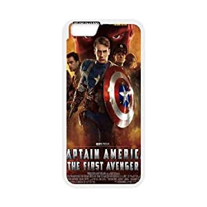 iphone6 4.7 inch Case (TPU), captain america the first avenger Cell phone case White for iphone6 4.7 inch - YYTT7886795