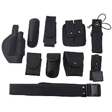 AGPtek® Police Security Modular Equipment System Duty Belt Nice Molded Nylon Set