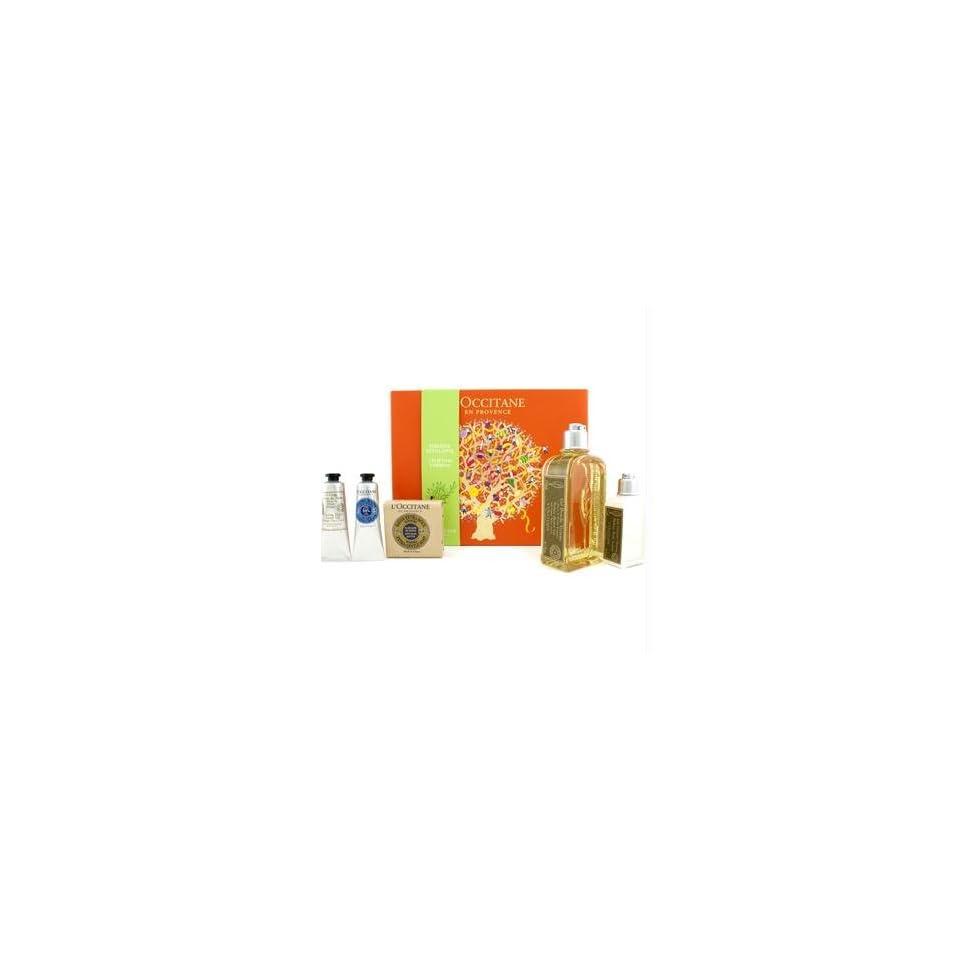 Uplifting Verbena Verbena Shower Gel + Soap + Body Lotion + Cooling Hand Cream Gel + Shea Butter Hand Cream
