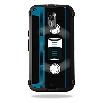 the best attitude dd5bc 4682e MightySkins Protective Vinyl Skin Decal for OtterBox Defender Moto X Pure  Edition wrap Cover Sticker Skins Cassette Tape