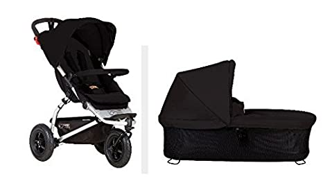 Mountain Buggy 2015 Swift carrito con capazo Plus (negro) por montaña Buggy: Amazon.es: Bebé